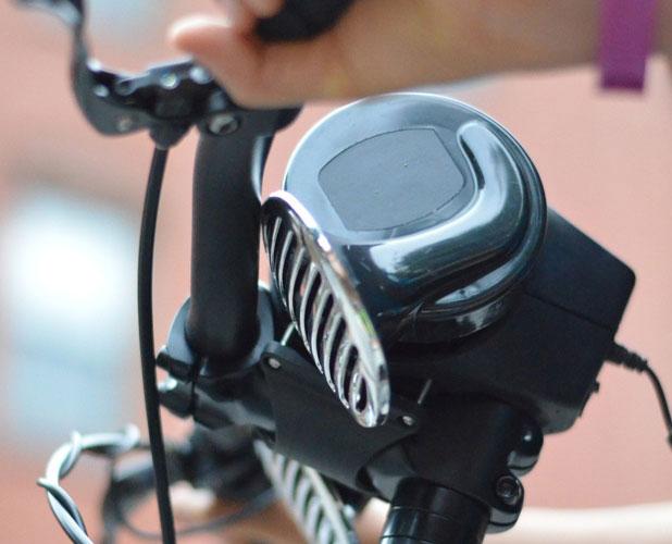 loud bicycle on bike