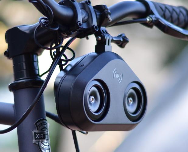 loud bicycle mini collage