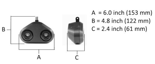 Loud Mini dimensions
